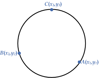 three-points-eq-circle